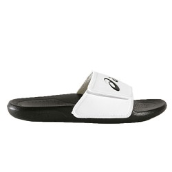 Claquettes Asics AS002 Velcro Black/White