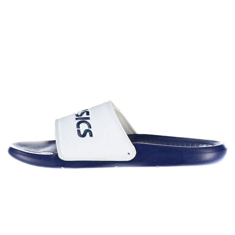 Claquettes Asics AS002 Velcro Bleu/Blanc