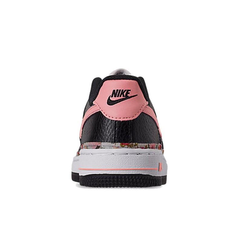 Baskets Nike Force 1 VF (PS) noir et rose pour enfants