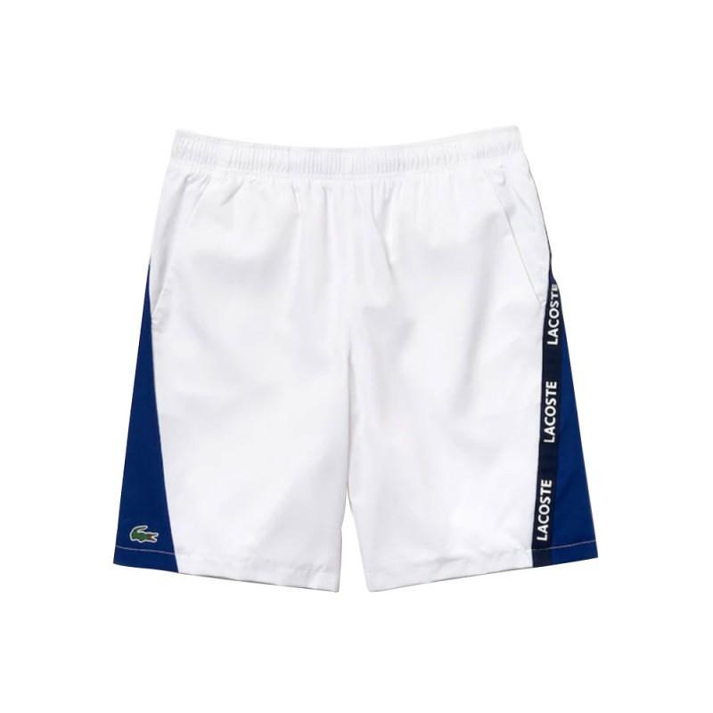 Short Lacoste SPORT bicolore avec bandes signature F4W