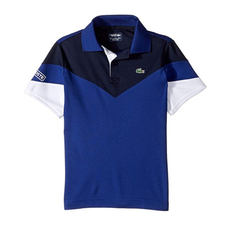 Polo Junior Lacoste OCEAN NAVY BLUE WHITE