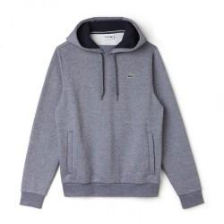Sweat-Shirt à capuche Lacoste SPORT gris