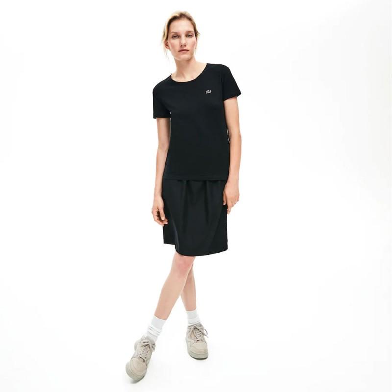 T-shirt Lacoste Noir pour femme 031