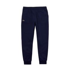 Pantalon Lacoste en coton Bleu Marine
