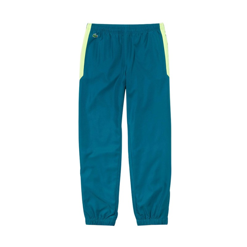 Pantalon Bleu Canard de survêtement Lacoste SPORT pour homme
