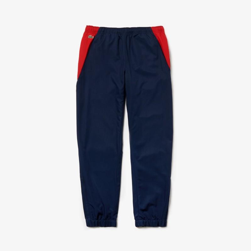 Pantalon Bleu/Rouge de survêtement Lacoste SPORT DB3