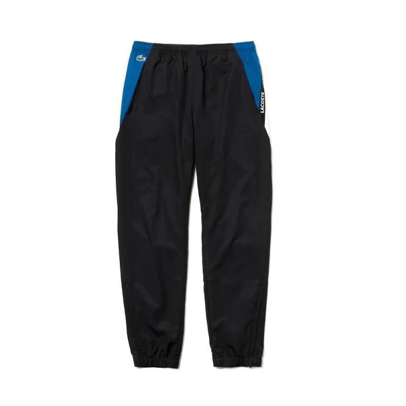 Pantalon Noir/Bleu de survêtement Lacoste SPORT 3SP