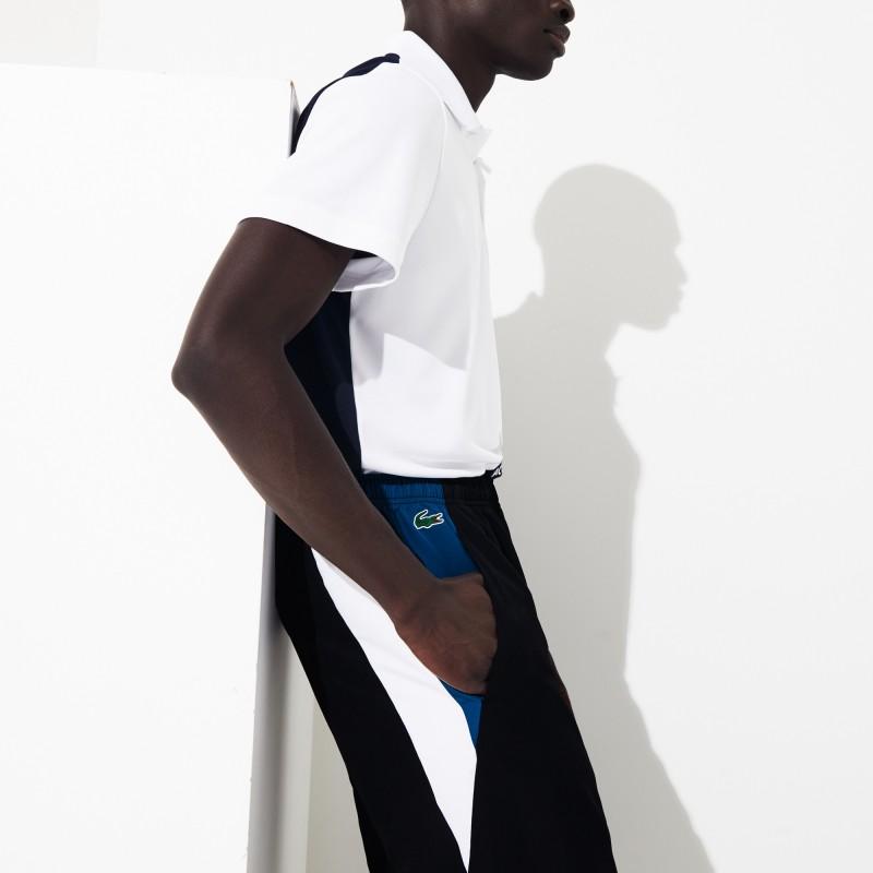 Pantalon Noir/Bleu de survêtement Lacoste SPORT pour homme