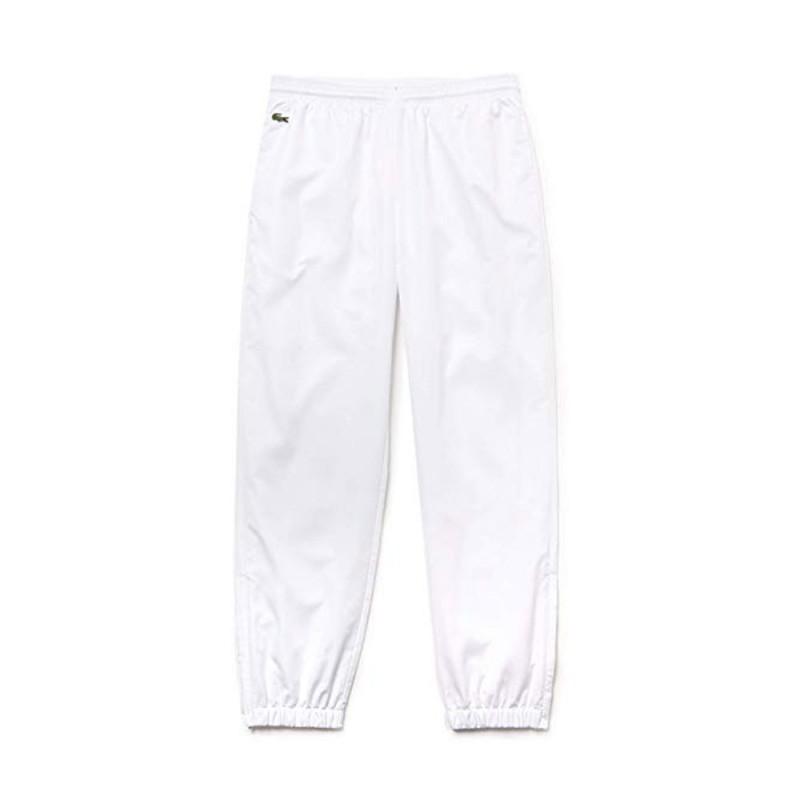 Pantalon de survêtement Homme Lacoste SPORT diamante uni Blanc 001