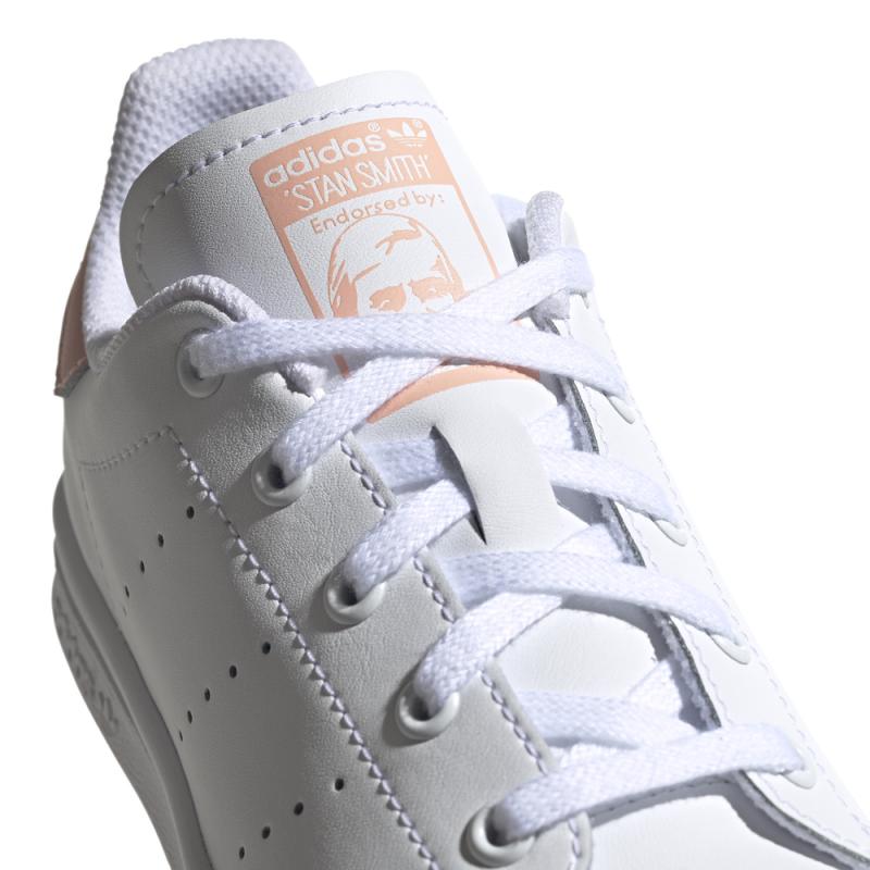 Baskets Adidas Stan Smith C Blanc/Rose
