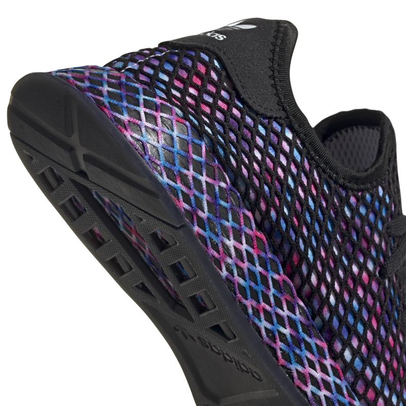 Baskets Adidas Deerupt Runner Noir/Couleur