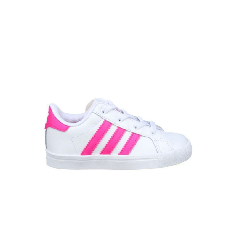 Baskets Adidas Coast Star EL I Pink