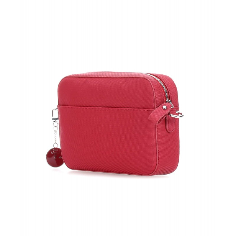 Sac Lacoste Daily Classic Square Crossover rouge