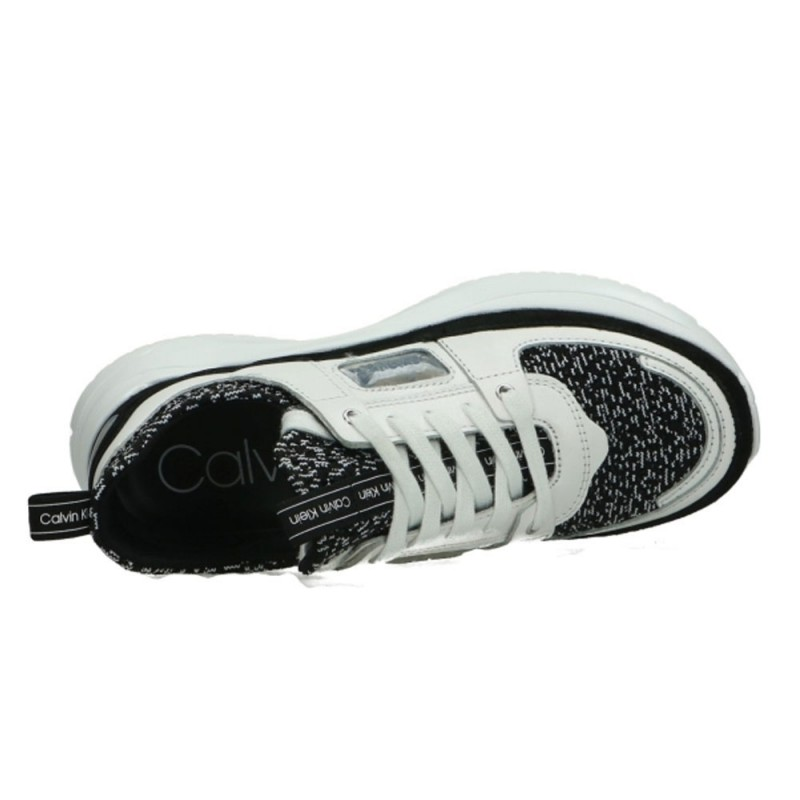 Baskets Calvin Klein Low Top Lace Up Knit