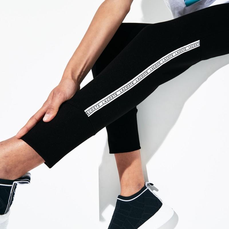 Jogging Tennis Lacoste SPORT en molleton avec bandes signature