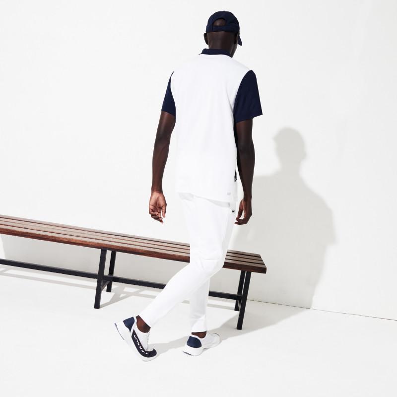 Pantalon de survêtement Tennis Lacoste SPORT blanc