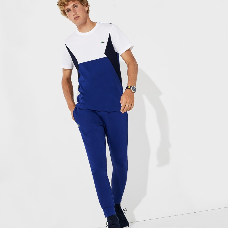 Pantalon de survêtement Tennis Lacoste SPORT bleu