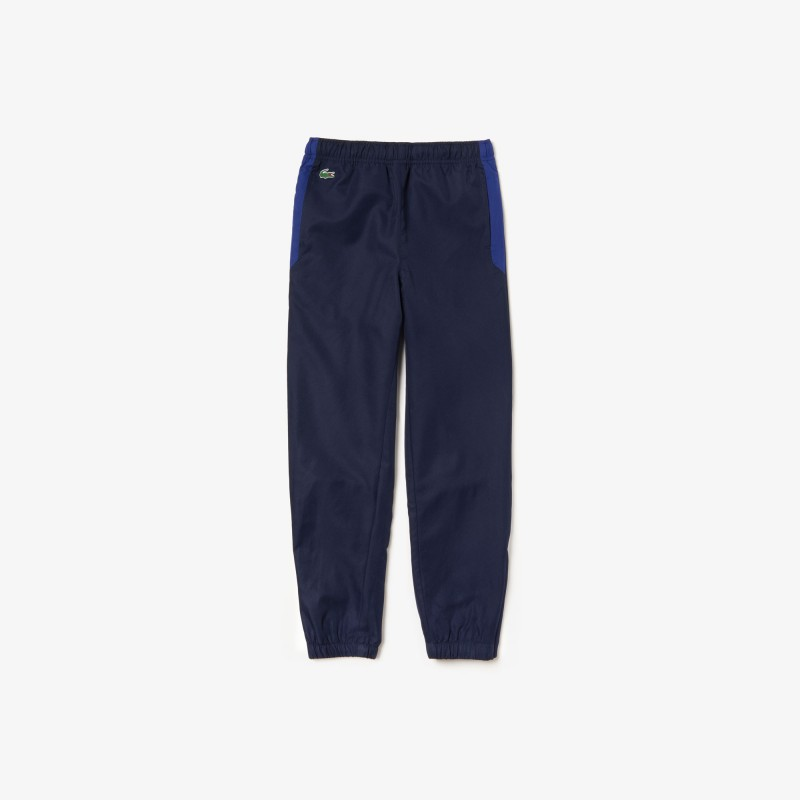 Pantalon de survêtement Garçon Tennis Lacoste SPORT bleu