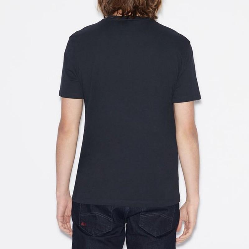 Tee-shirt bleu marine Armani Exchange
