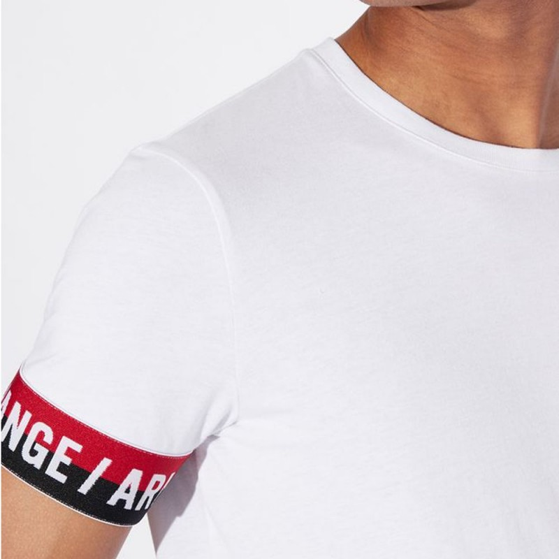Tee-shirt blanc Armani Exchange