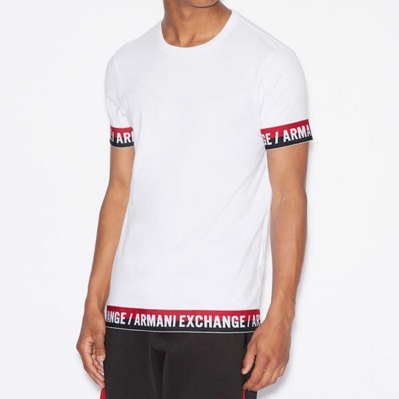Tee-shirt blanc Armani Exchange