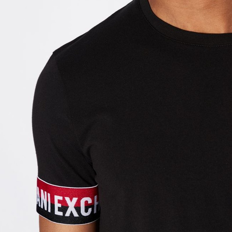Tee-shirt noir Armani Exchange