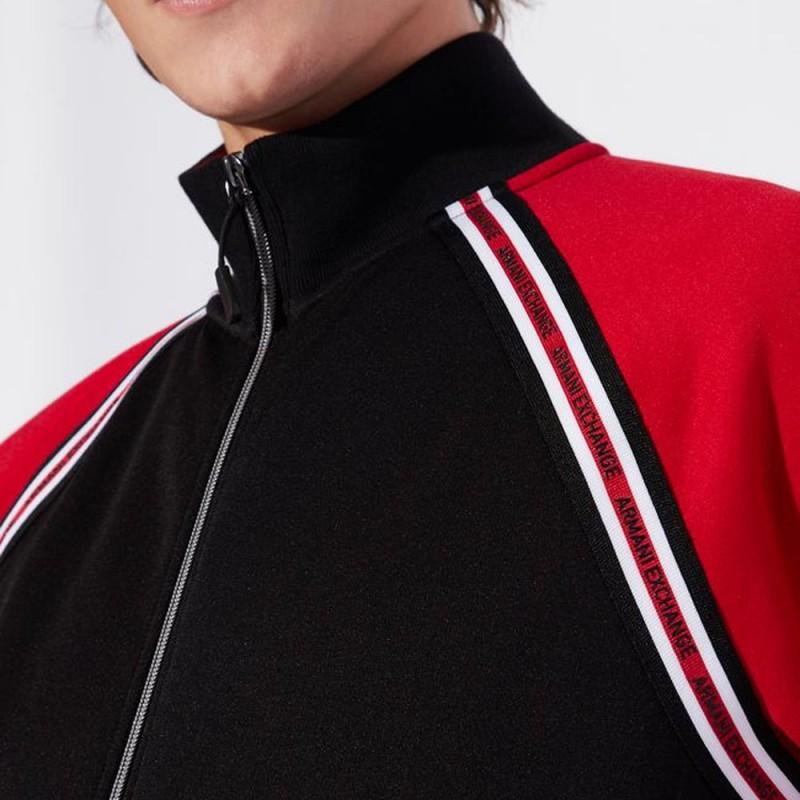 Veste rouge et noir Armani Exchange