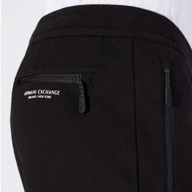 Pantalon de survêtement noir Armani Exchange
