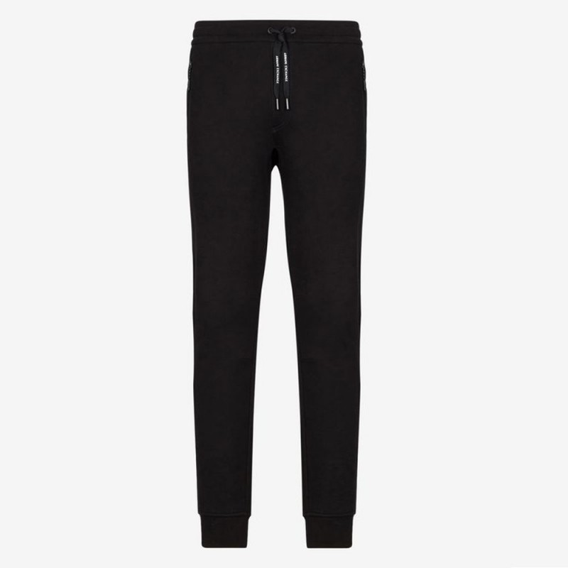 Pantalon de survêtement noir Armani Exchange