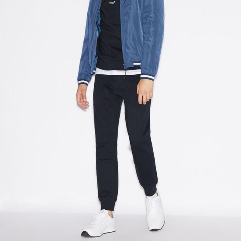 Pantalon de survêtement bleu marine Armani Exchange