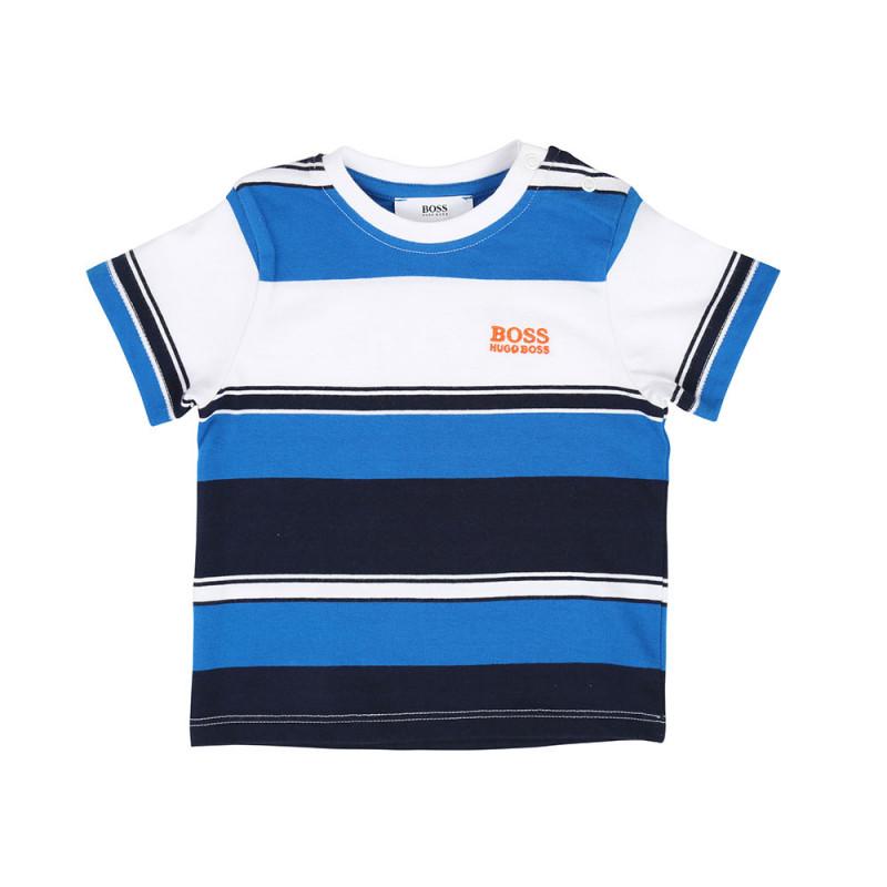 T shirt Boss bébé à rayures