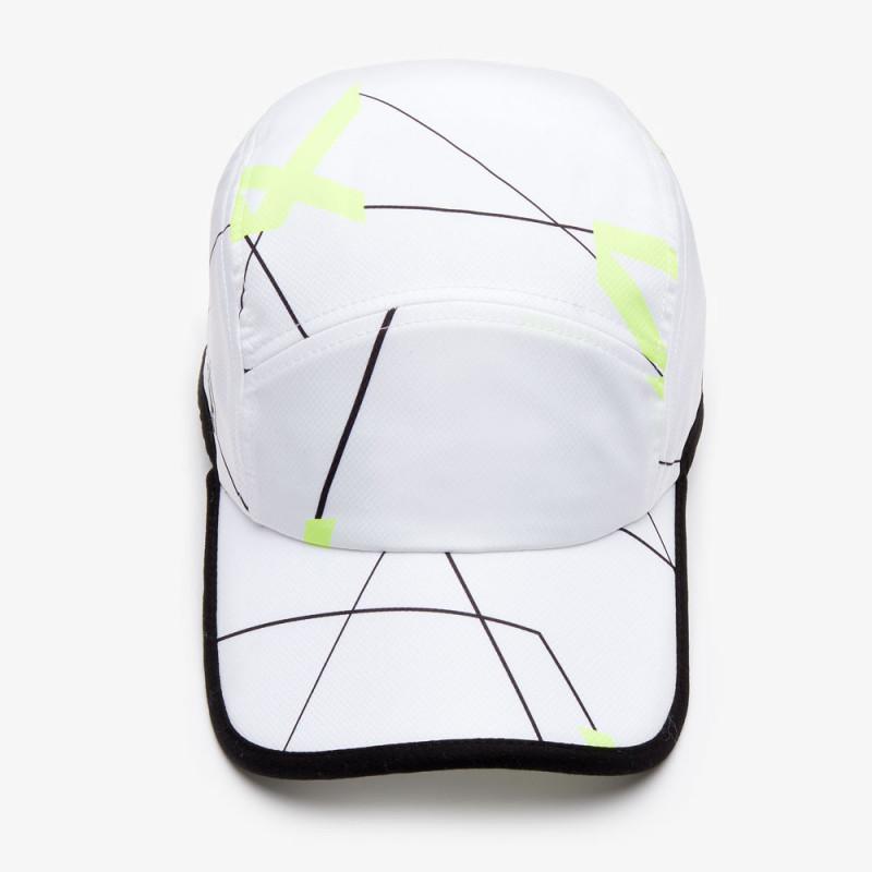 Casquette Tennis Lacoste SPORT à imprimé géométrique