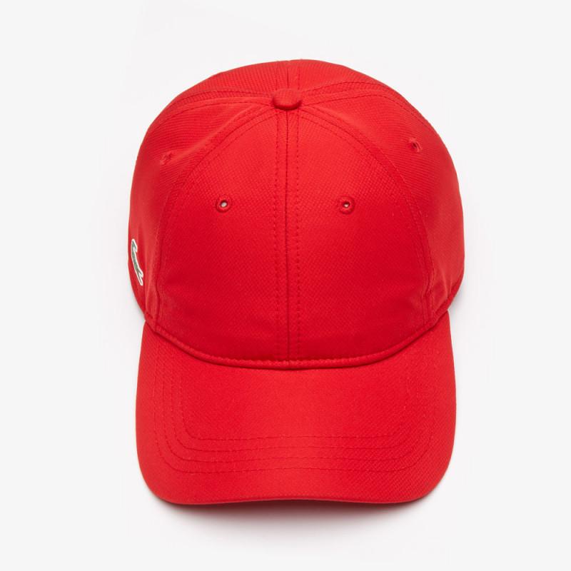 Casquette Lacoste SPORT rouge - Taille unique