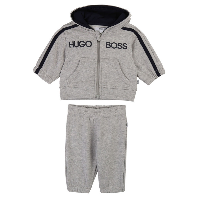 Ensemble jogging Boss gris