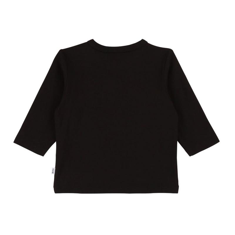 Tee-shirt manches longues Boss noir