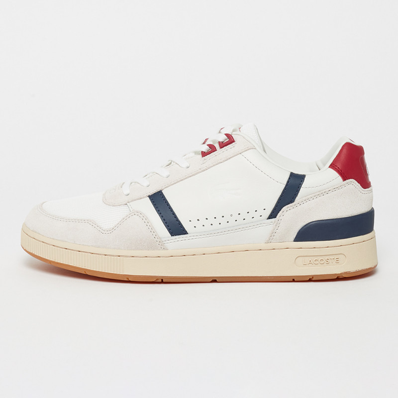 Baskets Lacoste T-CLIP 120 2 US SMA OFF WHT/NVY/RED
