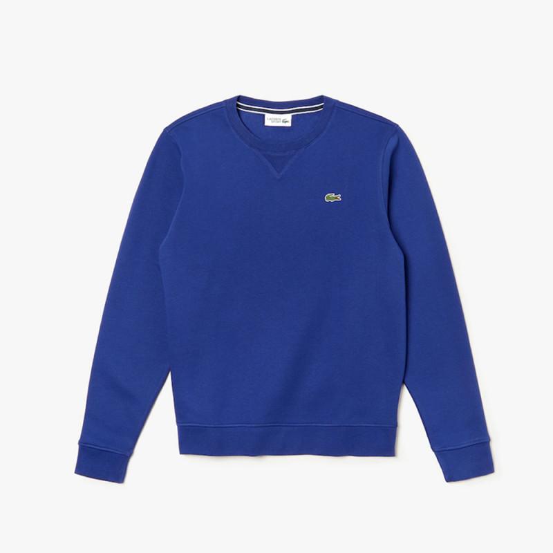 Sweatshirt Lacoste col rond SPORT en molleton uni