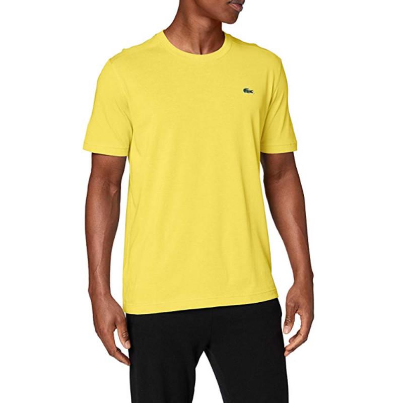 Tee Shirt Lacoste Sport Jaune