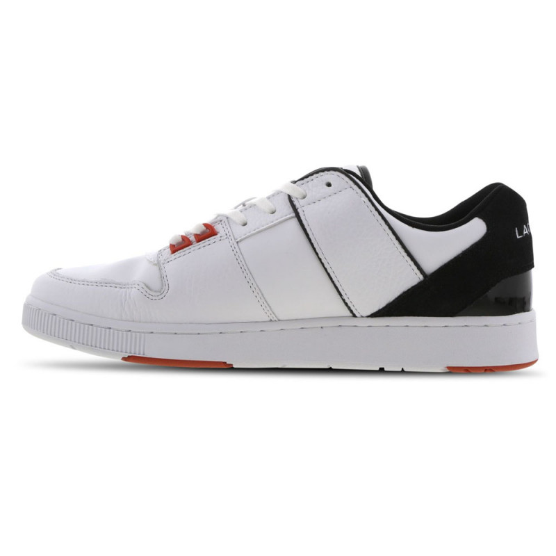Baskets Lacoste THRILL 120 1 SMA WHT/ BLK LTH/SYN