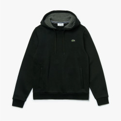Sweat-shirt Lacoste noir