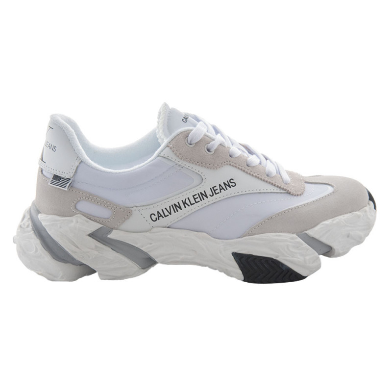 Baskets Calvin Klein Solaris Low Top Lace Up Blanc