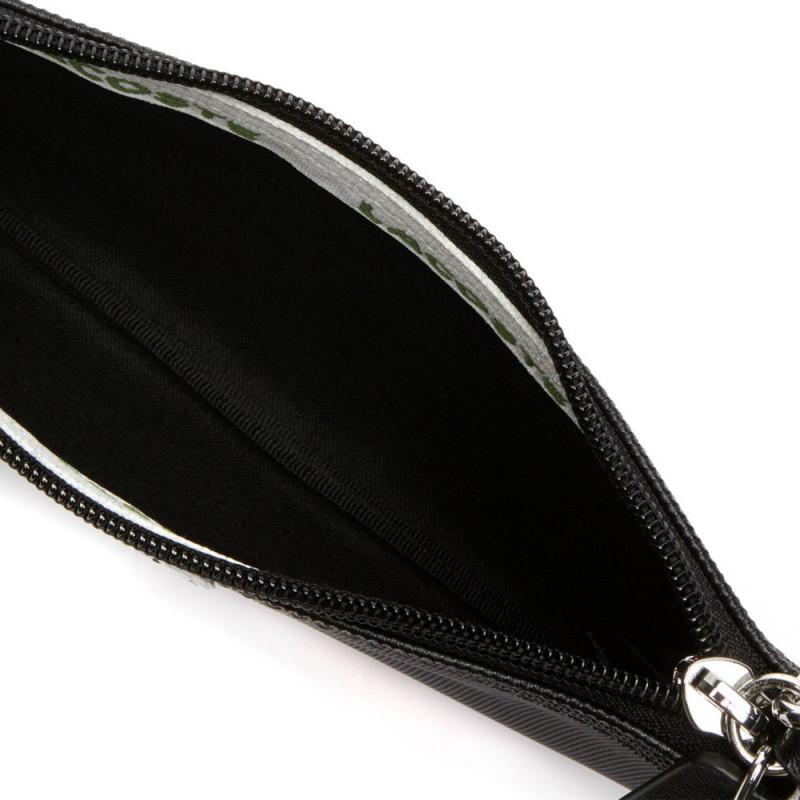 Pochette zippée Lacoste Noir